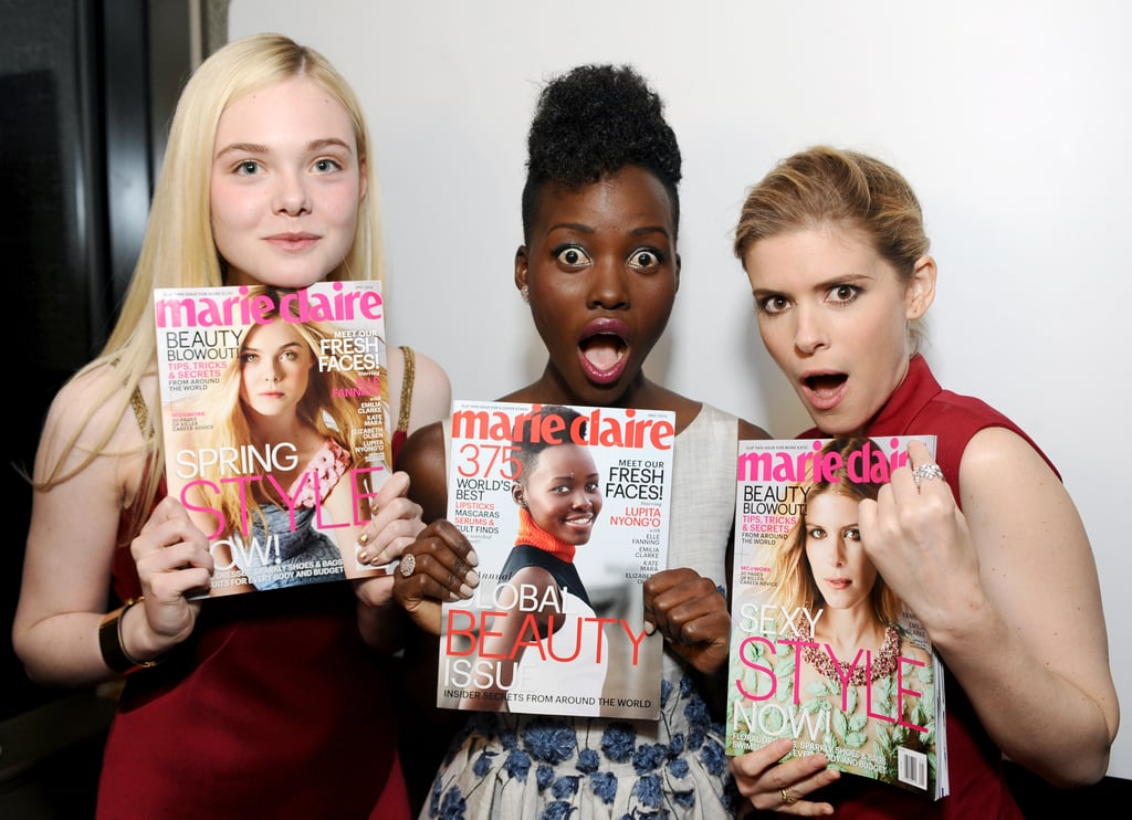 When She Got Legitimately Excited About Her Magazine Cover