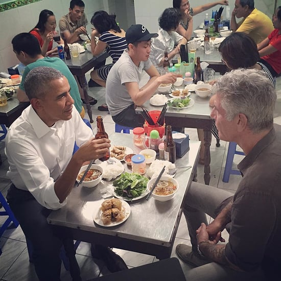 Anthony Bourdain Reveals 'Six True Things' About Eating Dinner with President Obama