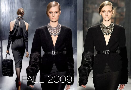 Donna Karan Places Toni Garrn's Head on Other Models' Bodies for Fall 2009 Ads