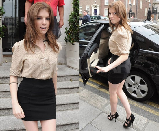 Pictures of Anna Kendrick, Michael Cera, and Jason Schwartzman Promoting Scott Pilgrim vs. the World in London