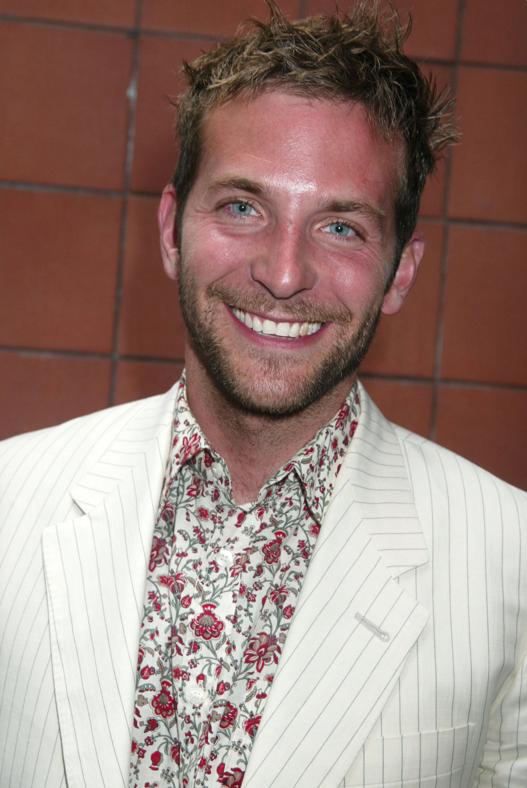 Was Bradley taking hairstyling cues from Justin Timberlake in 2005?