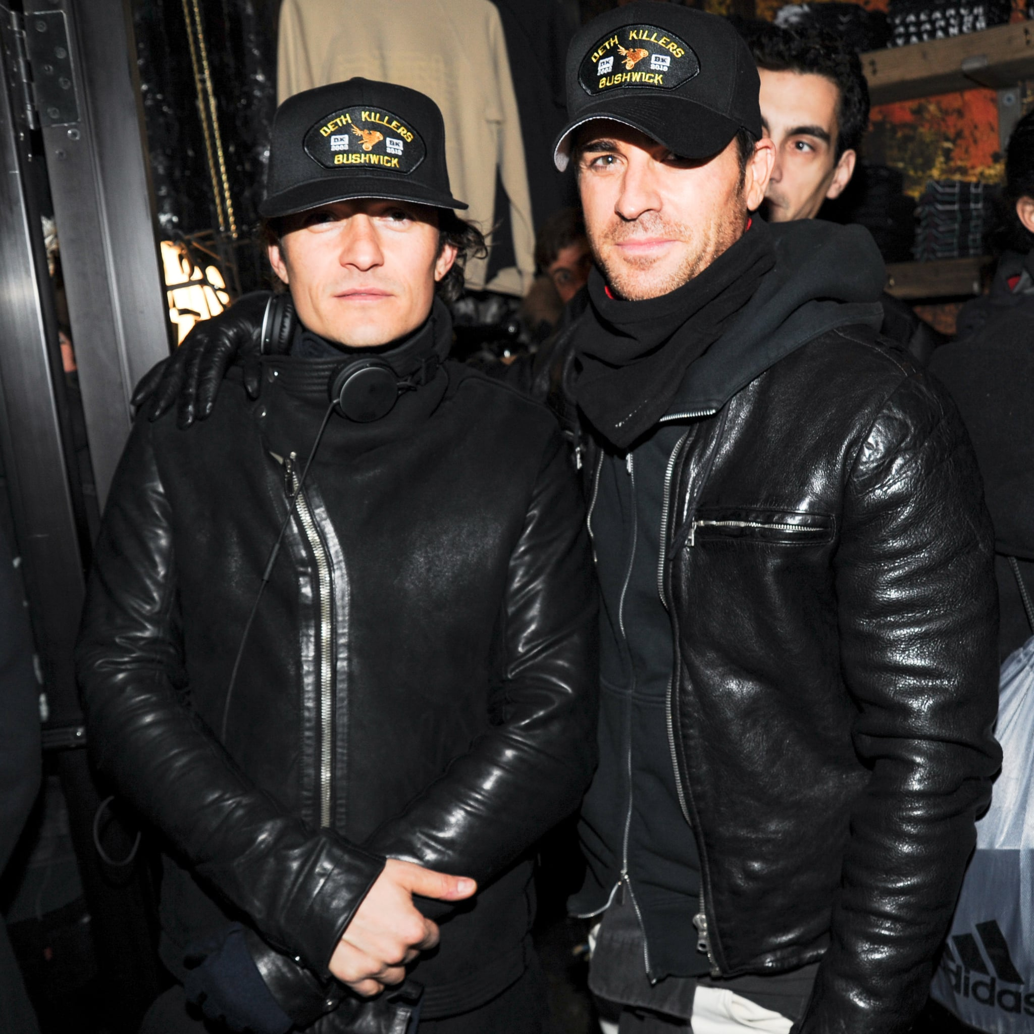 Orlando Bloom and Justin Theroux