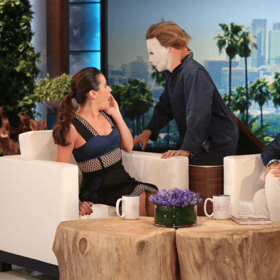 Ellen DeGeneres Proves That Lea Michele Really Is a Scream Queen
