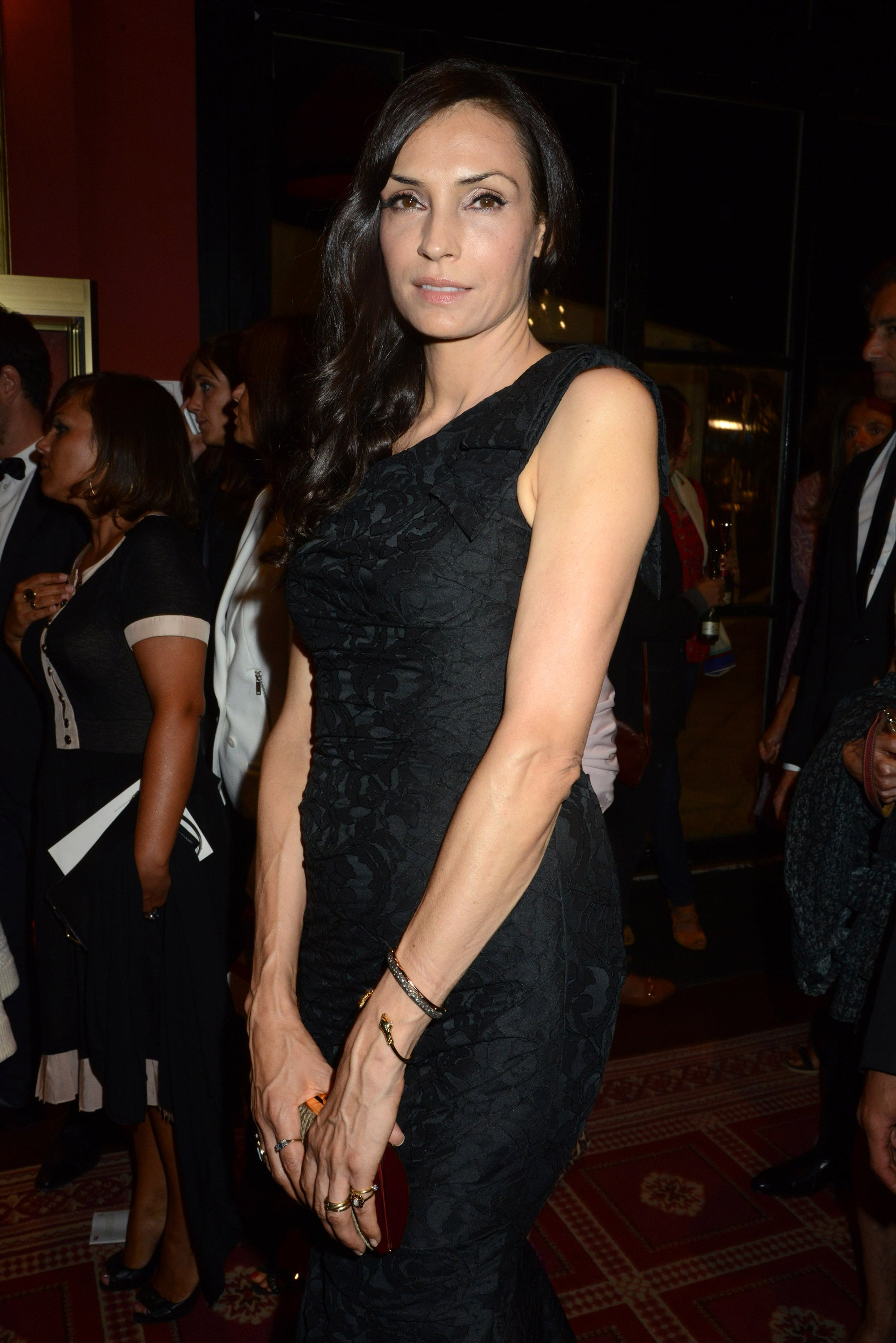 Famke Janssen was among the guests at the festival in France.