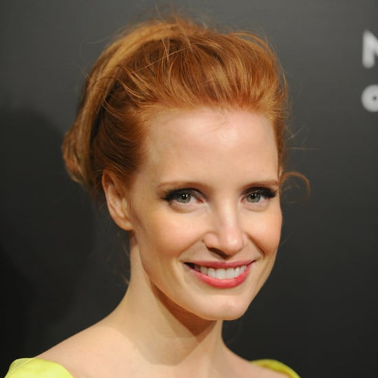 Jessica Chastain's Ponytail at the National Board of Review