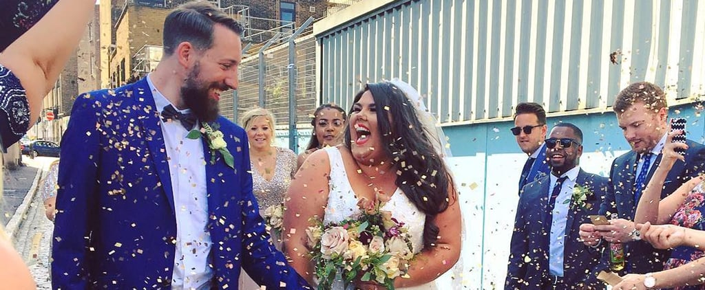 This Plus-Size Blogger Just Sent the Most Powerful Message With Her Wedding Dress