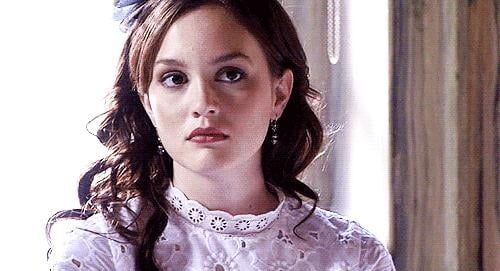 Let's start with Blair's perfected trademark: her eye roll.