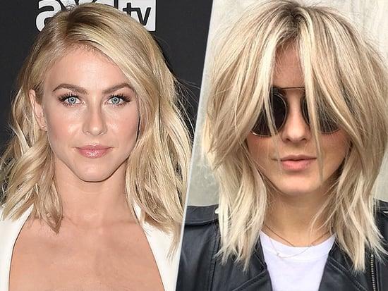 Julianne Hough's New Shag Haircut Has Definite 'the Rachel' Vibes