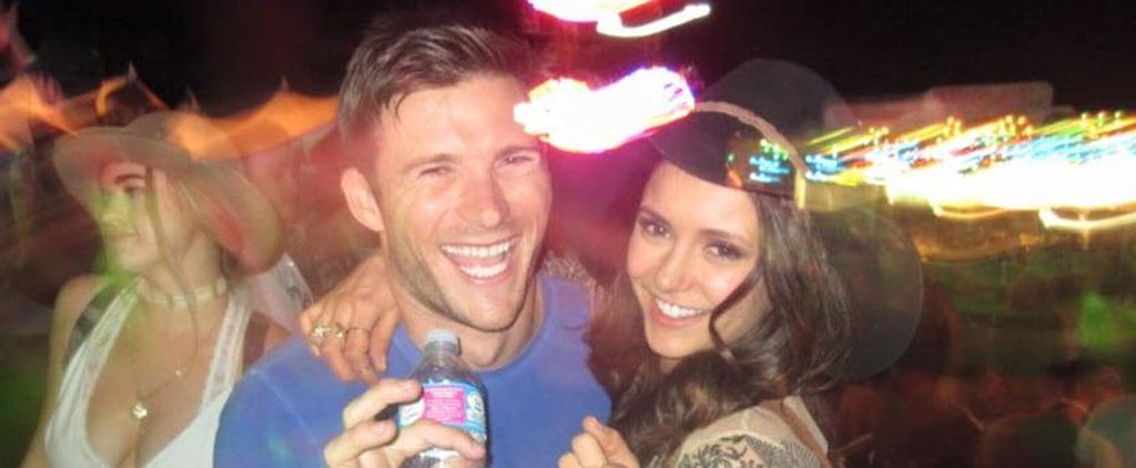 Scott Eastwood Cozies Up to Nina Dobrev at Coachella