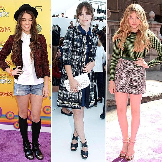 Celebrities Wearing Tweed Fall 2011