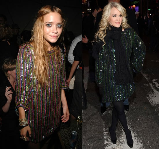Who Wore It Better? Elizabeth and James Sequin Dress