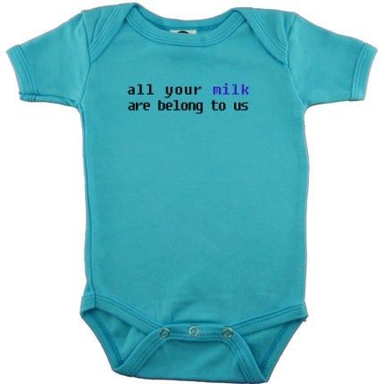 All Your Milk Onesie: Love It or Leave It?