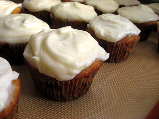 52 Weeks of Baking: Bubbly Pear Cupcakes