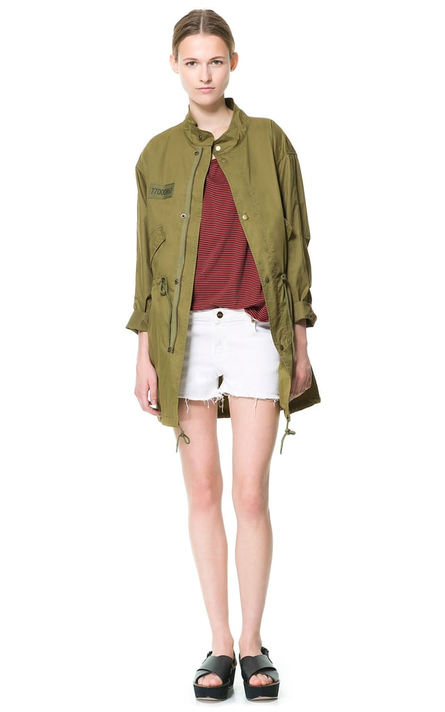 You probably don't need us to tell you that this Zara Light Cotton Parka ($60, originally $100) will come in handy from now through Fall and Winter. In fact, a staple parka like this is essentially season-less.