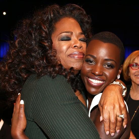 Photos of Oprah Winfrey with Celebrities During Award Season