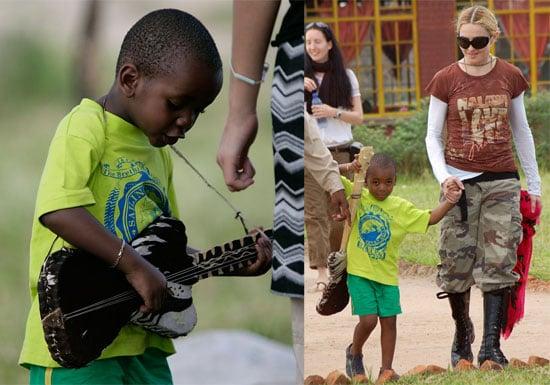 Photos of Madonna, David Banda, Mohawked Rocco, Lourdes in Malawi
