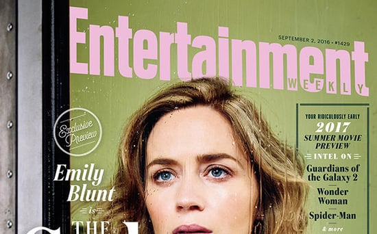 FROM EW: How Justin Theroux Figured Out Emily Blunt Was Pregnant on The Girl on the Train Set