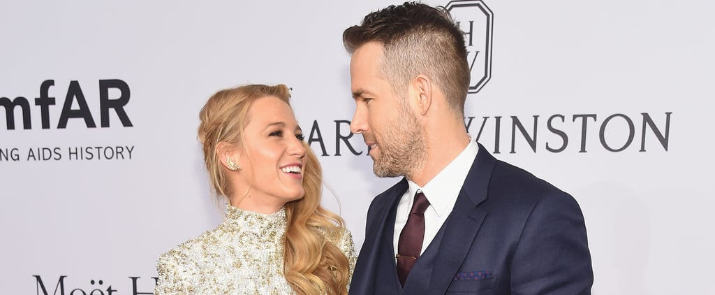 Blake Lively and Ryan Reynolds Have a Glamorous Night Out at the amfAR Gala