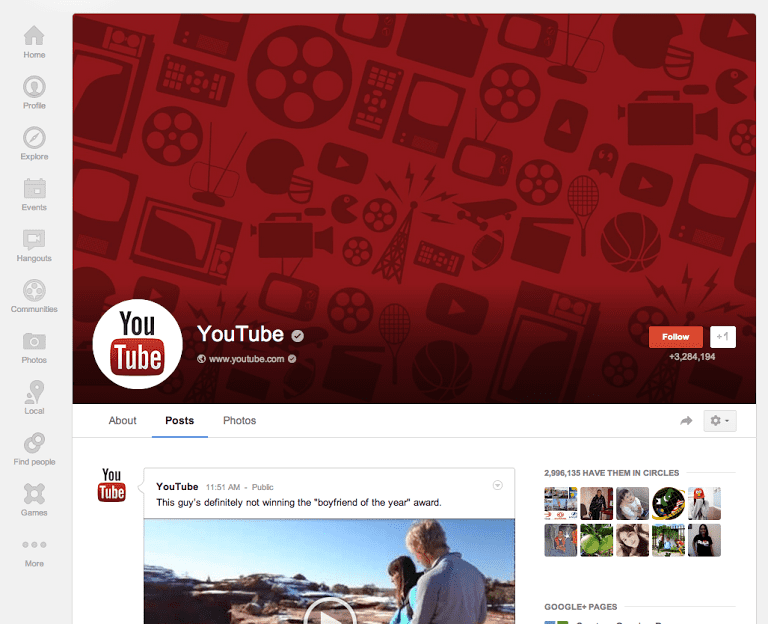 Is bigger really better on Google+ profiles? What do you think?