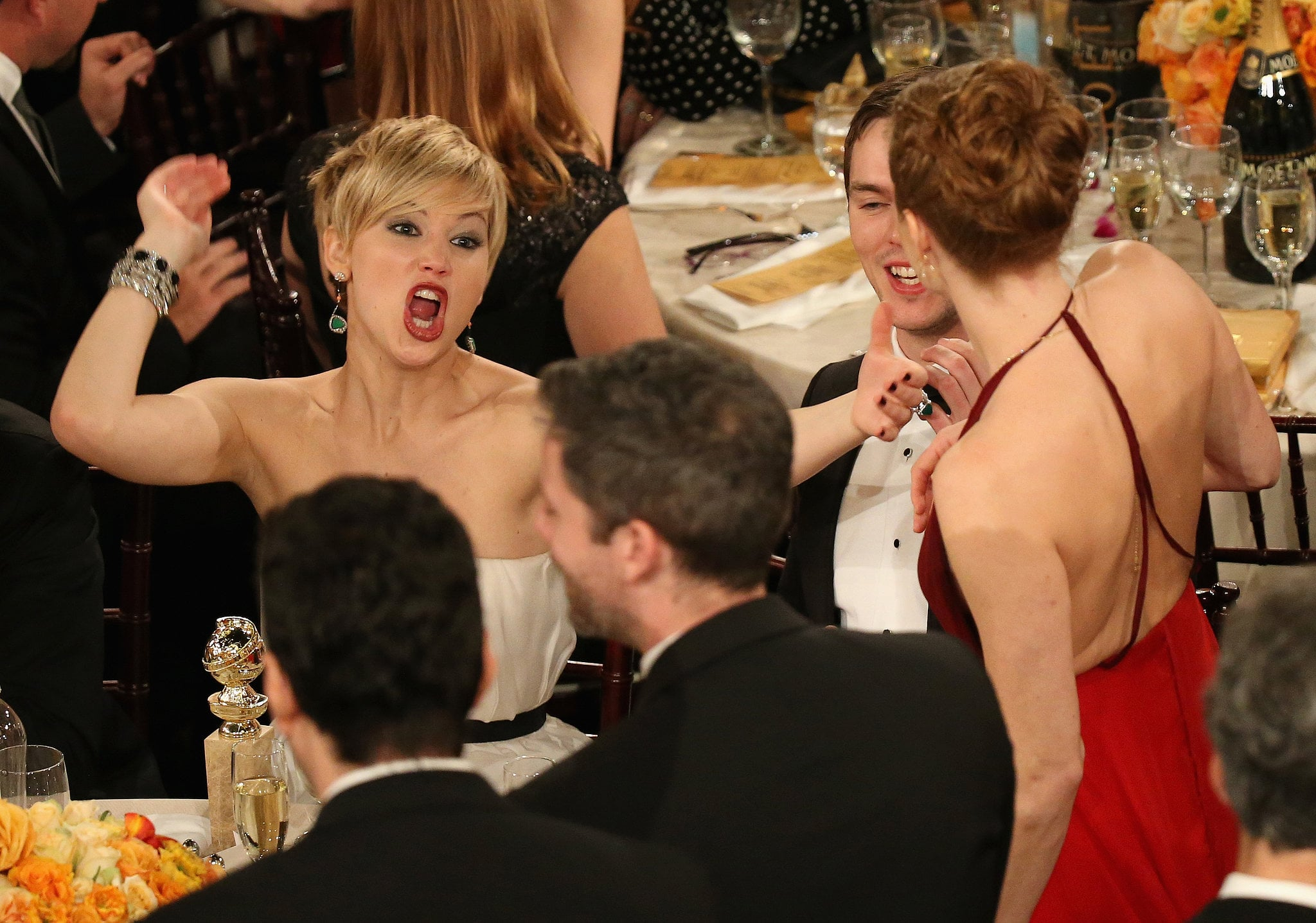Her Excitement For Her Costars