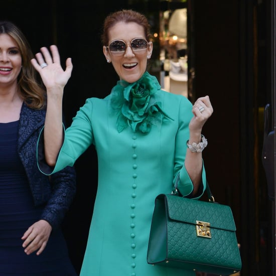 Celine Dion at Paris Couture Fashion Week July 2016