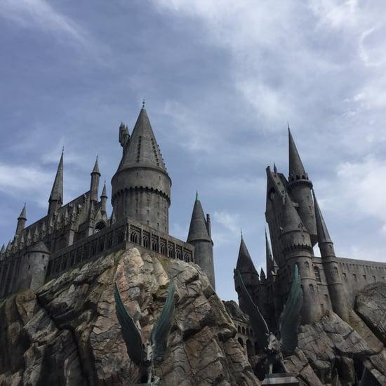 Harry Potter World Hollywood Forbidden Journey Ride