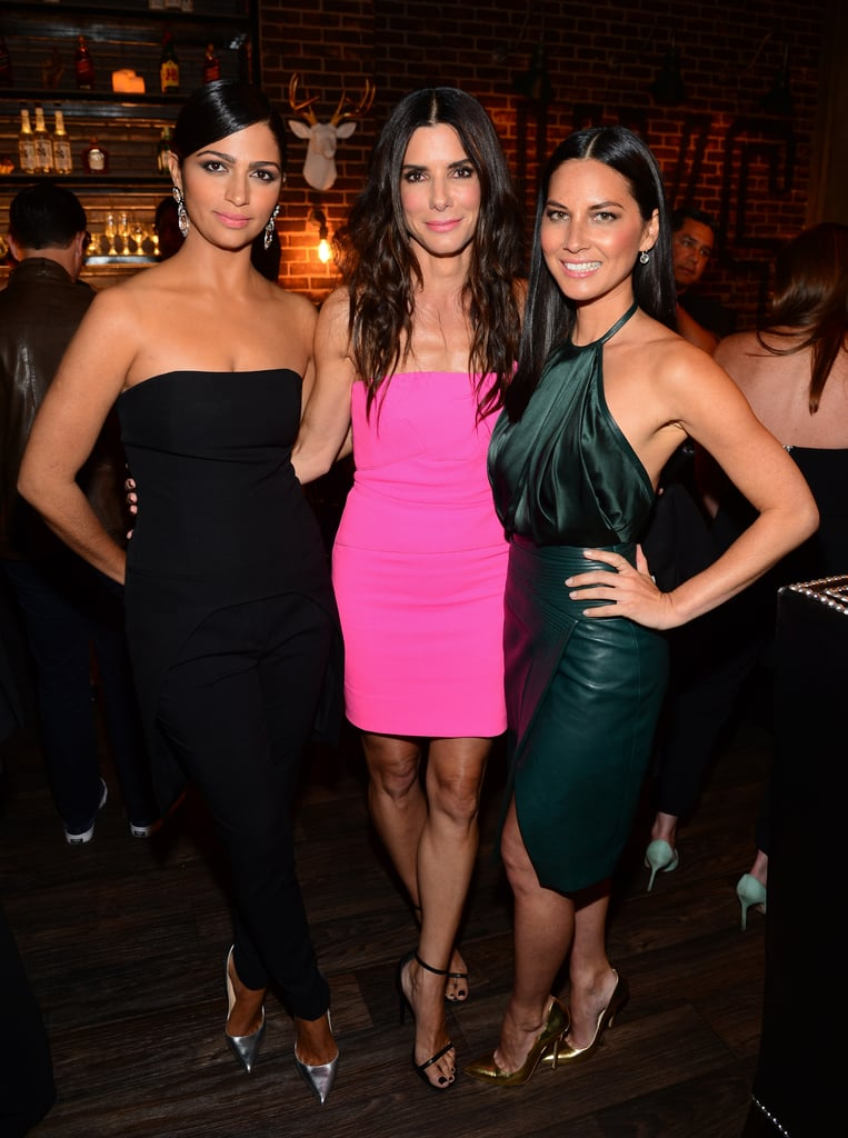 Camila Alves, Sandra Bullock, and Olivia Munn