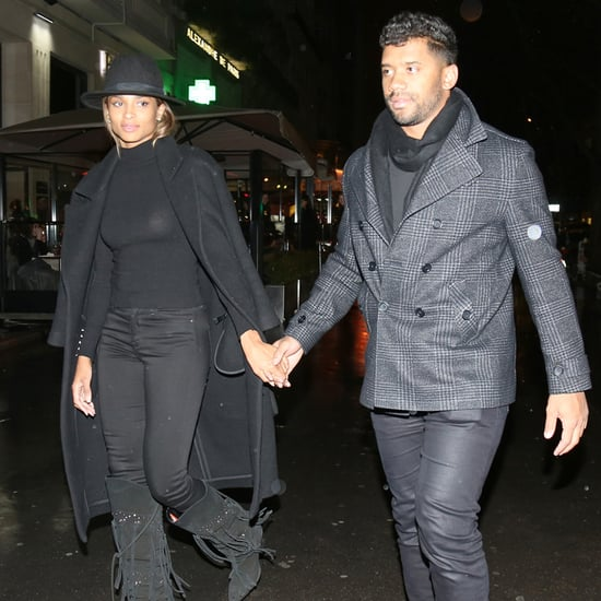 Ciara and Russell Wilson in Paris March 2016