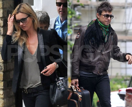 Kate Moss Pictures With Fiance Jamie Hince