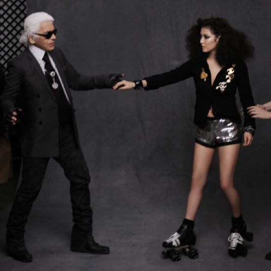 Chanel The Little Black Jacket Behind the Scenes Pictures