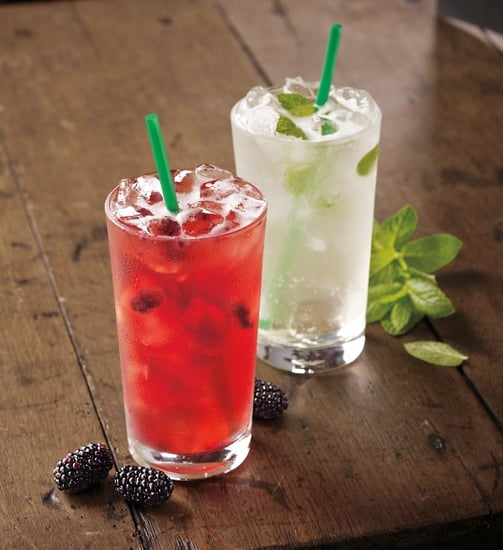 """Starbucks Tests New """"Refreshers,"""" or Iced Green Coffee Drinks"""