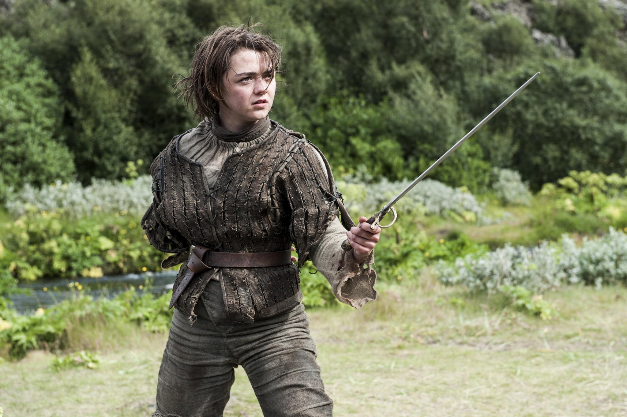 Maisie Williams Knows Her Place