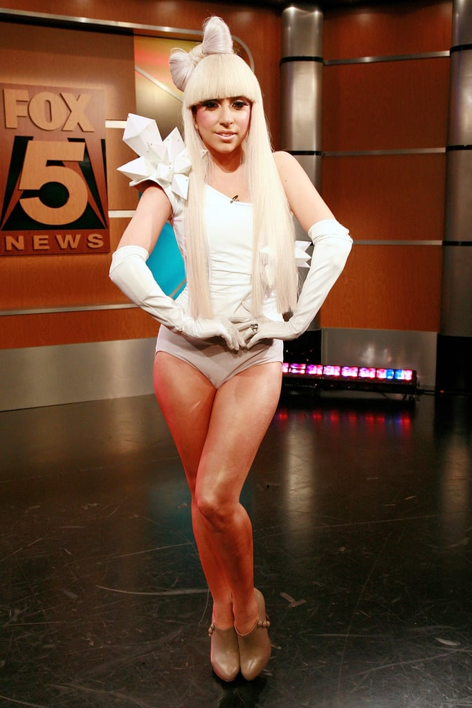 Lady Gaga With Hair Bow in 2008