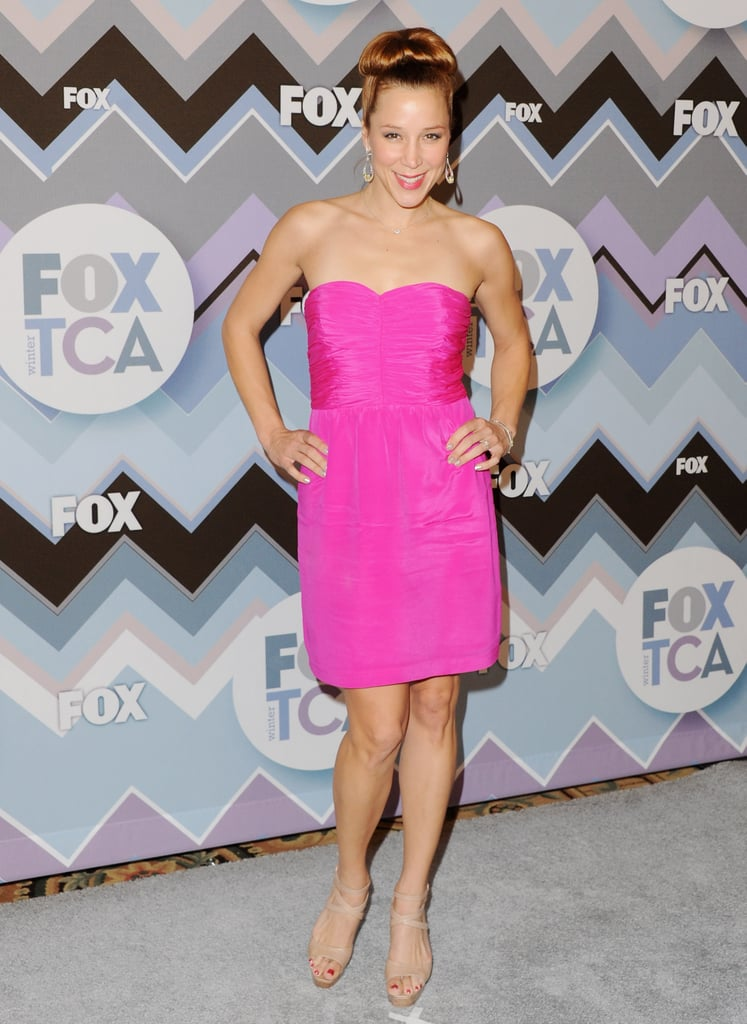 Becky Baeling arrived at the FOX party.