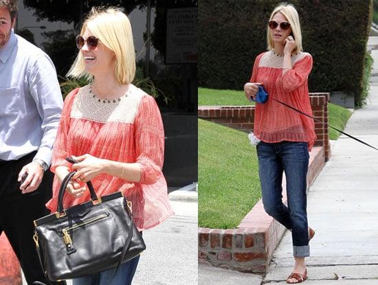 Pictures of La Mer Spokeswoman January Jones Out in LA