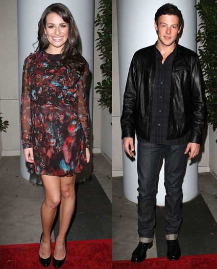 Pictures of Lea Michele, Cory Monteith, and the Cast of Glee at TV Guide's Hot List Party 2010-11-09 16:30:00