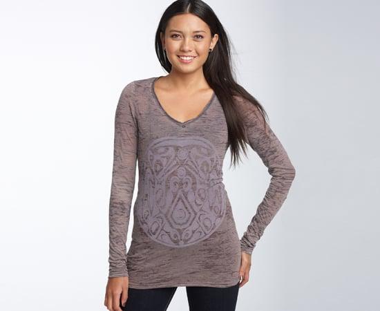 'Wolf Pack Motif' Long-Sleeve T-Shirt, $32