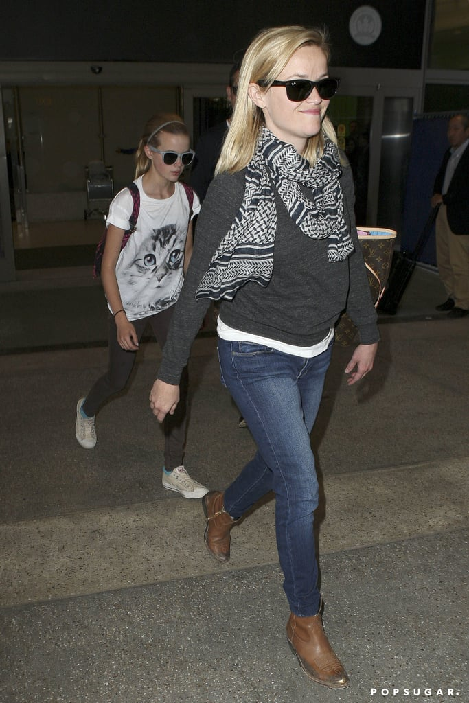Jim Toth Welcomes Reese and Ava Home From Their Girls' Getaway