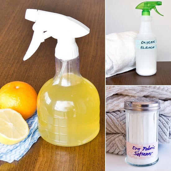 Natural bathroom cleaning products