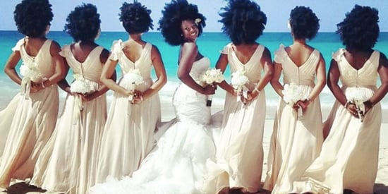This Bride And Her Bridesmaids Flawlessly Rocked Their Natural Hair