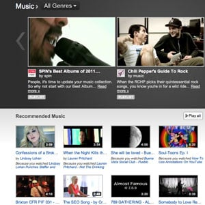 Streaming Music Online and Recommendation Services