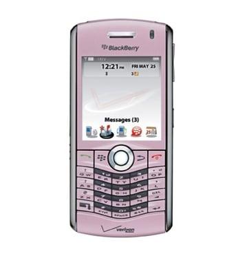 Pink BlackBerry Pearl