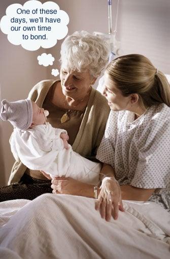 Grandma Nurses Grandson