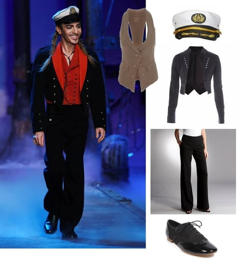 John Galliano Halloween Costume Idea for 2010
