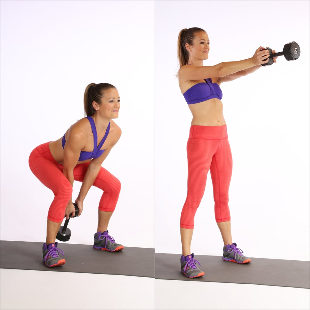 Circuit One:Dumbbell Swing