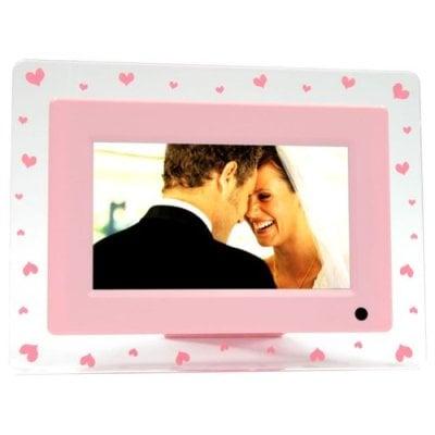 Pink Hearts Digital Photo Frame