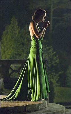 The Look For Less: Keira Knightley's Emerald Green Atonement Dress