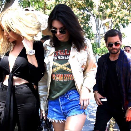 Kendall Jenner Wearing Denim Cutoffs June 2016