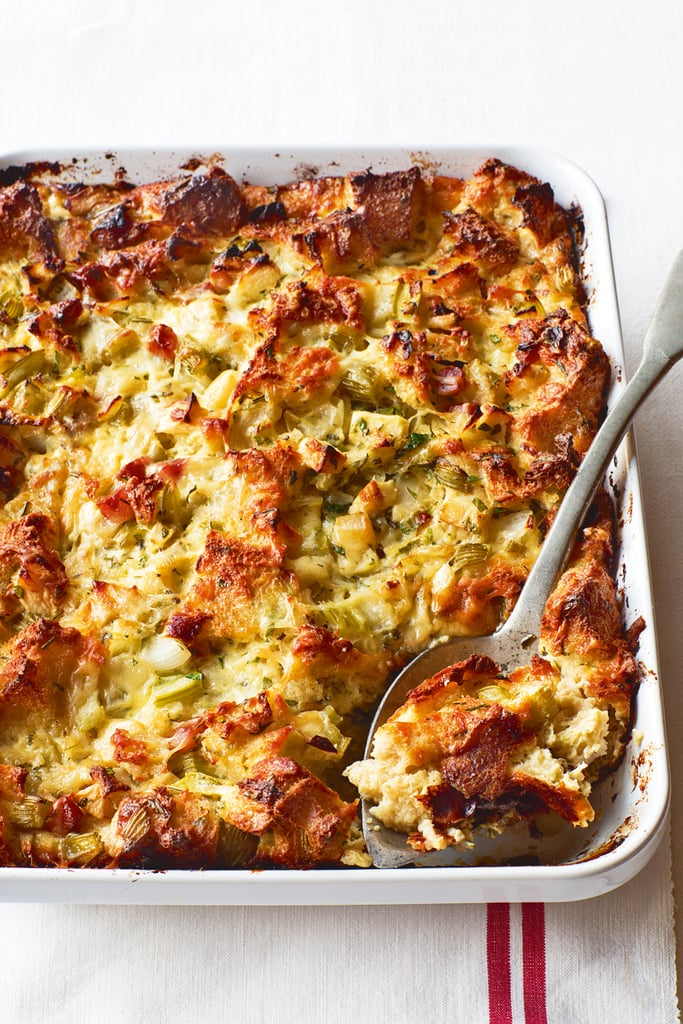 Ina Garten's Herb and Apple Bread Pudding