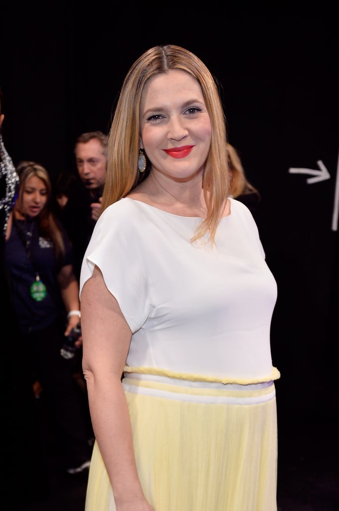 Drew Barrymore Wins For Sweetest Mom-to-Be Glow